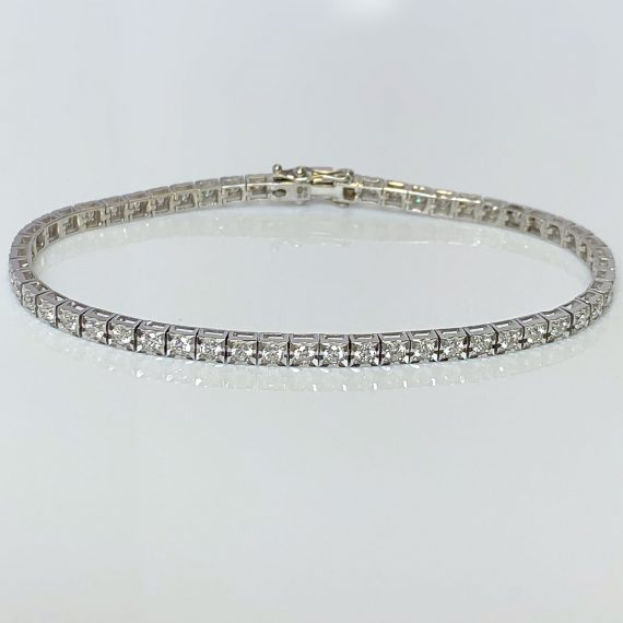 Diamond Delicate Tennis Bracelet