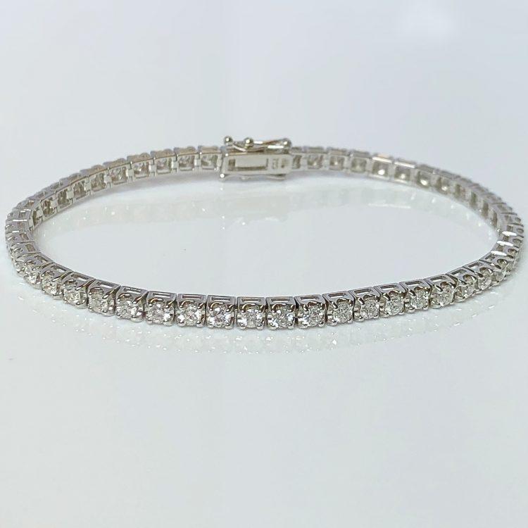 Diamond Claw Set Tennis Bracelet