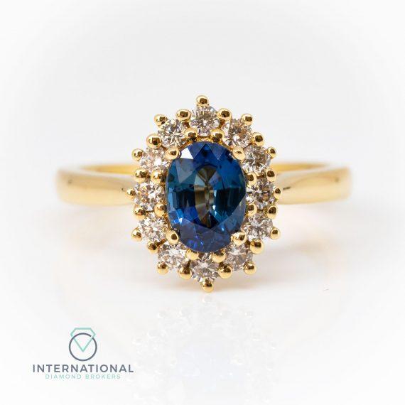 Sapphire & Diamond YG Cluster